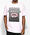 Diamond Supply Co. Pink Spectrum Light Pink T-Shirt