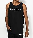 Diamond Supply Co. Practice Black Tank Top