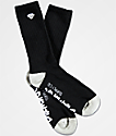 Diamond Supply Co. Rock Logo & Script Black Crew Socks