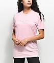 Diamond Supply Co. Stone Cut Light Pink T-Shirt