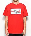 Diamond Supply Co. Transparent Red T-Shirt