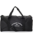 Dimepiece Catching Flights Not Feelings Black Duffle Bag