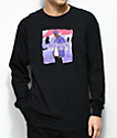 Dipset x Yung Lenox Purple Haze Black Long Sleeve T-Shirt