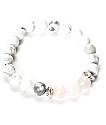 Divinity LA Rose Howlite Pink & White Bracelet