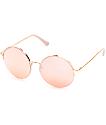 Dorset Round Rose Gold Sunglasses