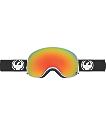 Dragon X2 Inverse Red Ion & Black Snowboard Goggles