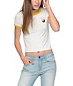 Dravus Cali Adventure Begins White Ringer T-Shirt