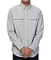 Dravus Dan Solid Grey Flannel Shirt