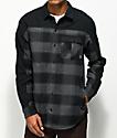 Dravus Tony Piece Charcoal & Black Flannel Shirt