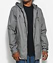 Dravus Woodland Charcoal Anorak Jacket