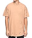 EPTM Slub OG 2.0 Dusty Pink Elongated T-Shirt