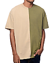 EPTM. Joker Split Khaki & Olive T-Shirt