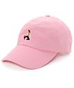 EVERYBODYSKATES Method Pink Baseball Hat