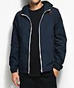 Element Alder Full Zip Navy Jacket