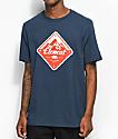 Element Route Eclipse Navy T-Shirt