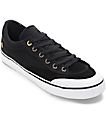 Emerica Indicator Low Black & White Canvas Skate Shoes