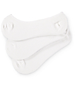Empyre 3-Pack White No Show Socks