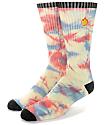 Empyre Burst Tie Dye Crew Socks