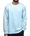 Empyre Business Blue Crew Neck Sweatshirt
