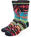 Empyre Choice Tribal Black & Red Crew Socks