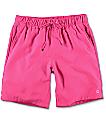 Empyre Dubtub Hot Pink Elastic Waist Board Shorts