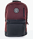 Empyre Good Burgundy & Black Backpack