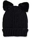 Empyre Halle Cat Black Beanie