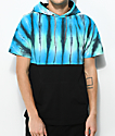 Empyre Inked Hooded Tie Dye & Black T-Shirt