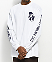 Empyre Into The Night White Long Sleeve T-Shirt