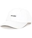 Empyre Link In Bio White Strapback Baseball Hat