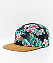 Empyre Luana Black Floral Strapback Hat
