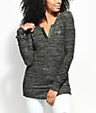 Empyre Marin Rose Olive Long Sleeve Shirt