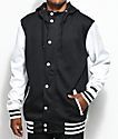 Empyre Offense Black & White Tech Fleece Jacket