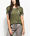 Empyre Paulie Chill Olive Ringer T-Shirt