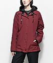 Empyre School Yard Maroon 10K Snowboard Jacket