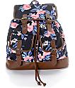 Empyre Serene Tropical Floral Rucksack Backpack