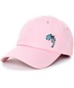 Empyre Shady Palm Tree Pink Baseball Hat