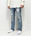 Empyre Skeletor Vila Rip & Repaired Jeans
