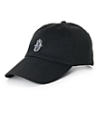 Empyre Solstice Black Hamsa Hand Baseball Hat