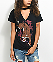 Empyre Tiger Black Choker T-Shirt