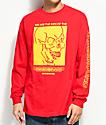 Empyre Underground Red Long Sleeve T-Shirt
