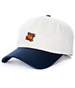 Empyre Untouchable Cream & Navy Strapback Hat