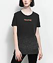 Empyre Vandra Roses Black Washed T-Shirt