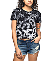 Empyre Yohanna Whatever Black Tie Dye T-Shirt