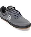 Etnies Marana Grey & Black Nubuck Skate Shoes