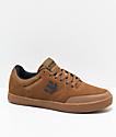 Etnies x Michelin Marana Brown & Gum Skate Shoes