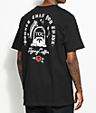 Flying Coffin Sudden Death Black T-Shirt