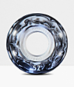Form Dualite White and Black Swirl 52mm Skateboard Wheels