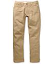 Free World Messenger Khaki Skinny Jeans