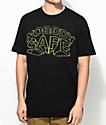 Freebandz Nobody Safe 3D Text Black T-Shirt
